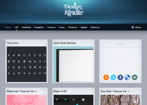 Design Kindle   Free  high quality websites  graphics  vectors  and icons