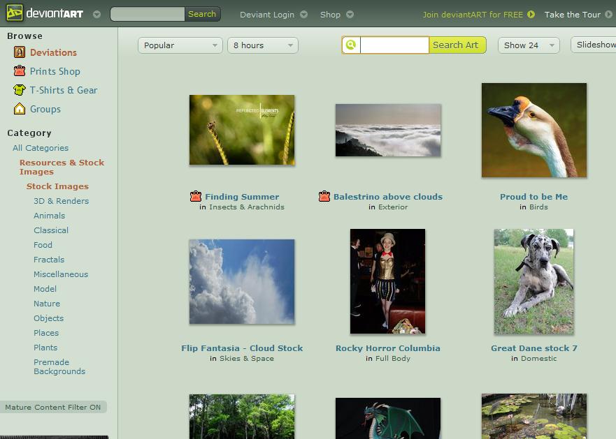 Stock Images on deviantART