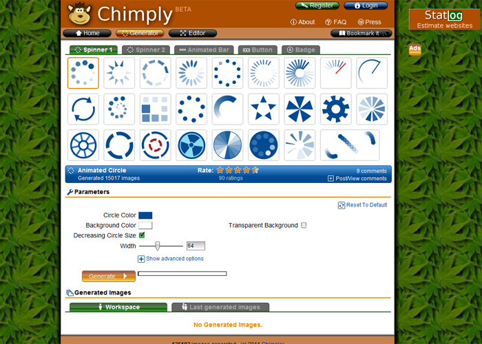 Chimply generates your images