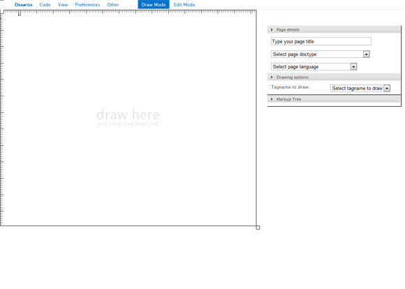 Drawter.com: DrawAble Markup Language